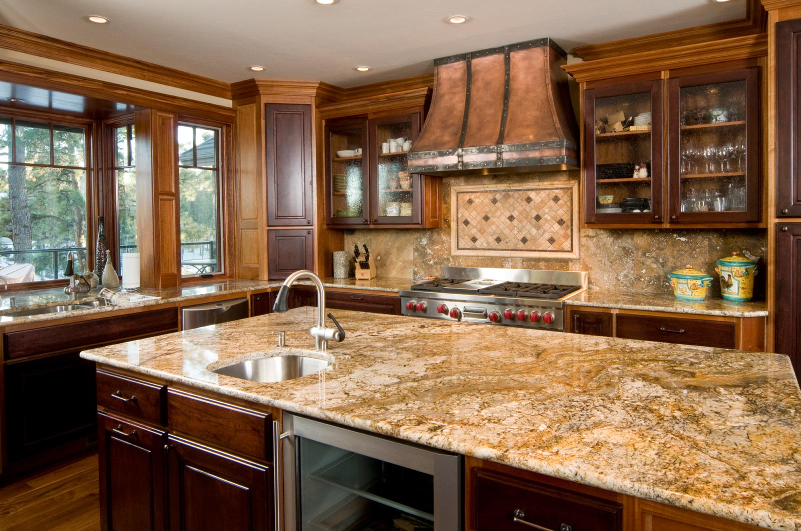 Superb Kitchen Granite Countertops Ideas Part - 11: Granite Kitchen Countertops Colors