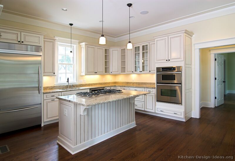 Kitchen Cabinets Traditional Antique White Kitchen Cabinets Ideas - Kitchen Cabinets Traditional Antique White Kitchen Cabinets Ideas