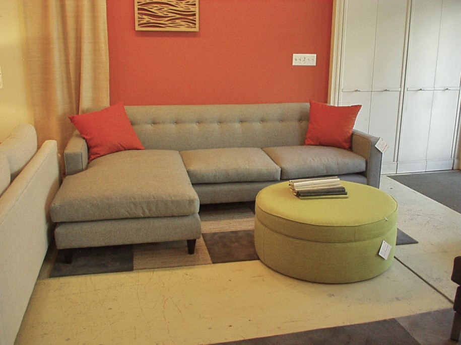 Decorate small apartments with sofa beds eva furniture - Small space sectional couches paint ...
