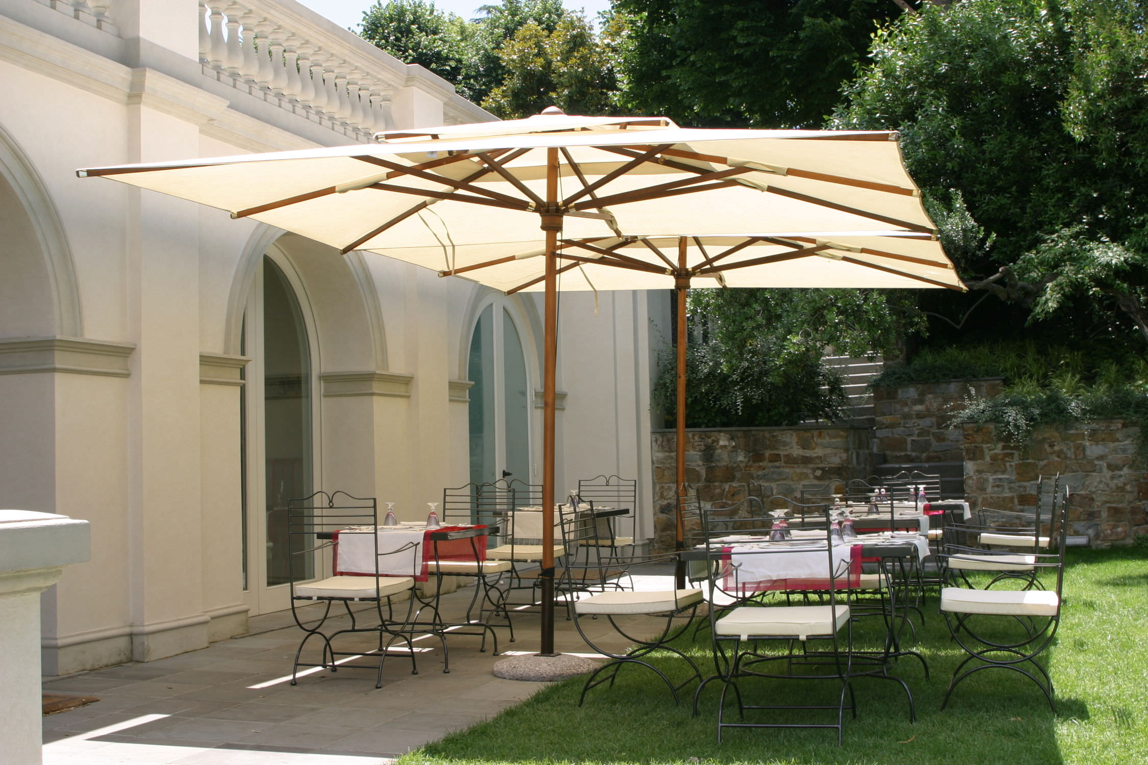 Aluminum fset Patio Umbrella