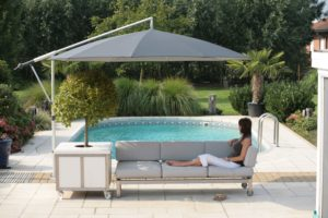 Offset Sun Umbrella