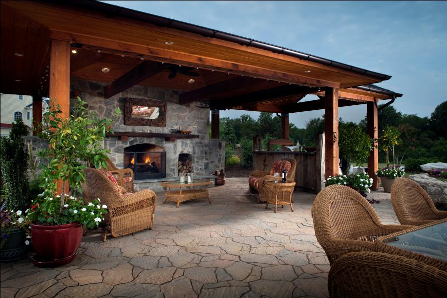 Lovely Awesome Outdoor Patio Designs