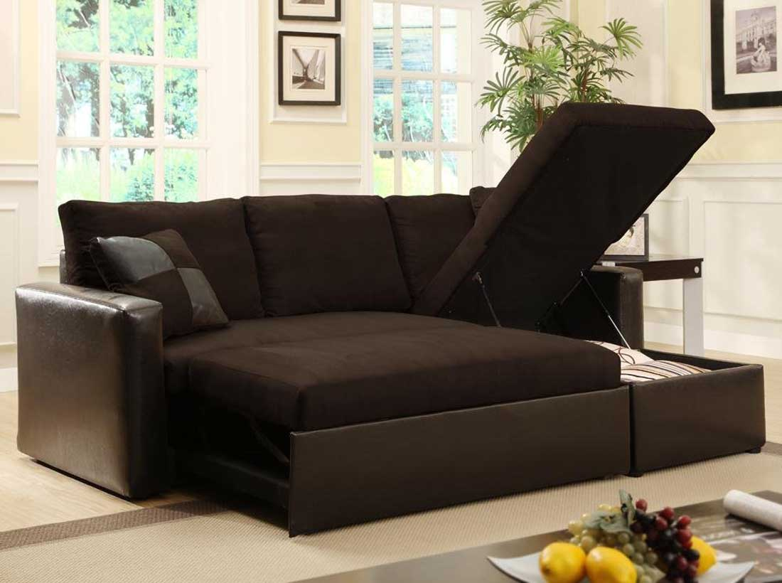Brown Sleeper Loveseats for Small Spaces