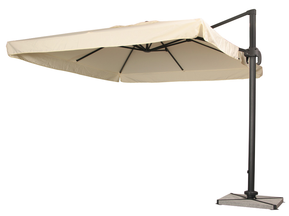 Offset Cantilever Patio Umbrellas 11 Deluxe Octagon