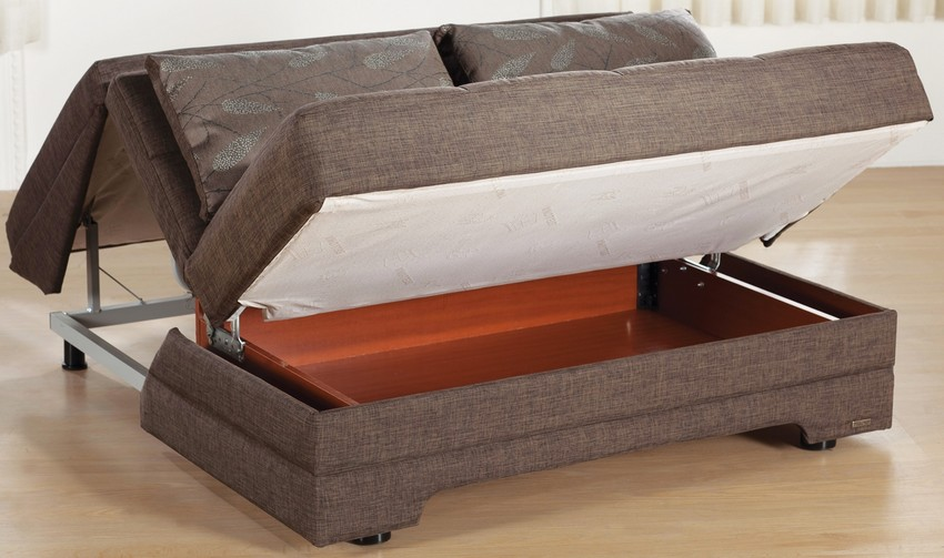 Convertible sofa bed pull out couch Loveseat with pullout bed