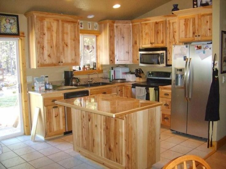hickory kitchen cabinets picture ideas