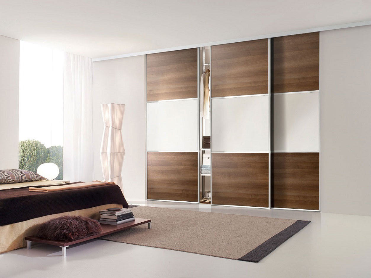 Mirrored Interior Sliding Glass Doors Photo Ideas