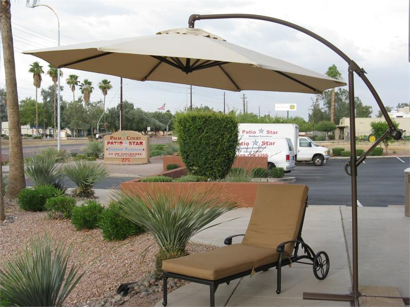Offset Sun Patio Umbrella