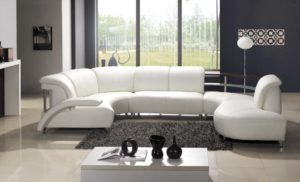 25 Leather Sectional Sofa Design Ideas