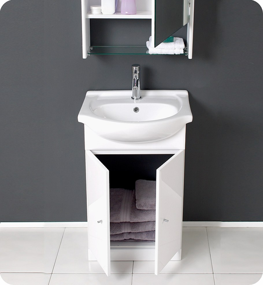 Small bathroom vanities for small bathroom for Bathroom cabinets small spaces