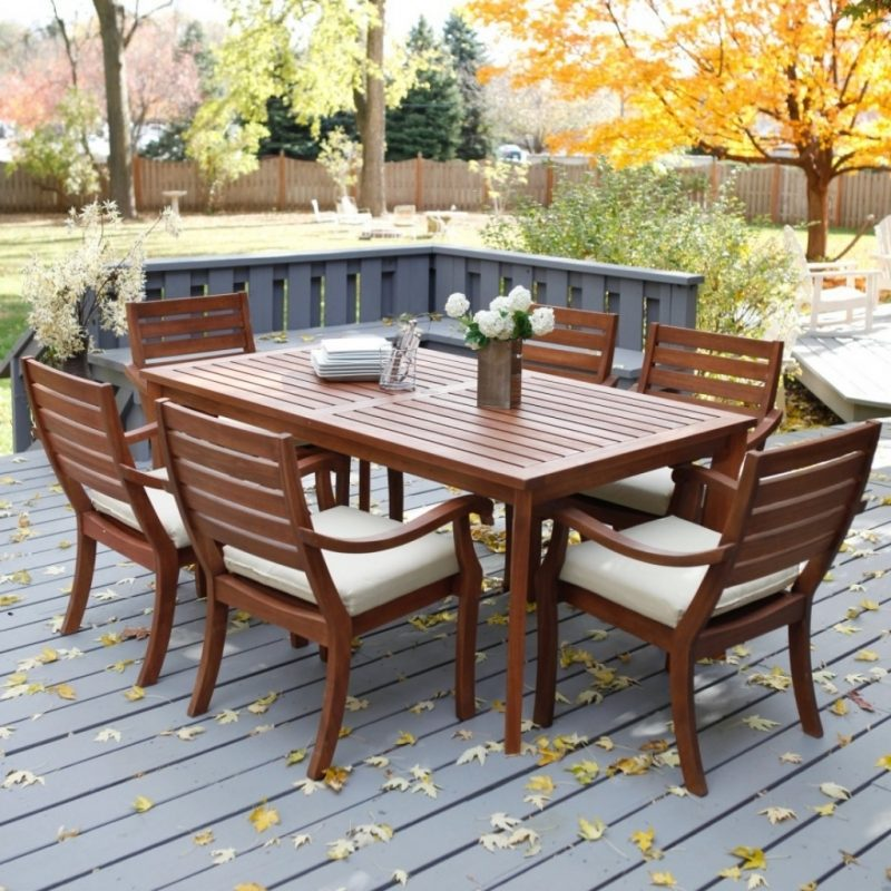 Small patio furniture eva furniture for Patio furniture table set