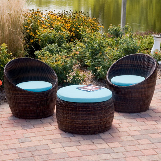 Small Patio Furniture Sets Design Ideas