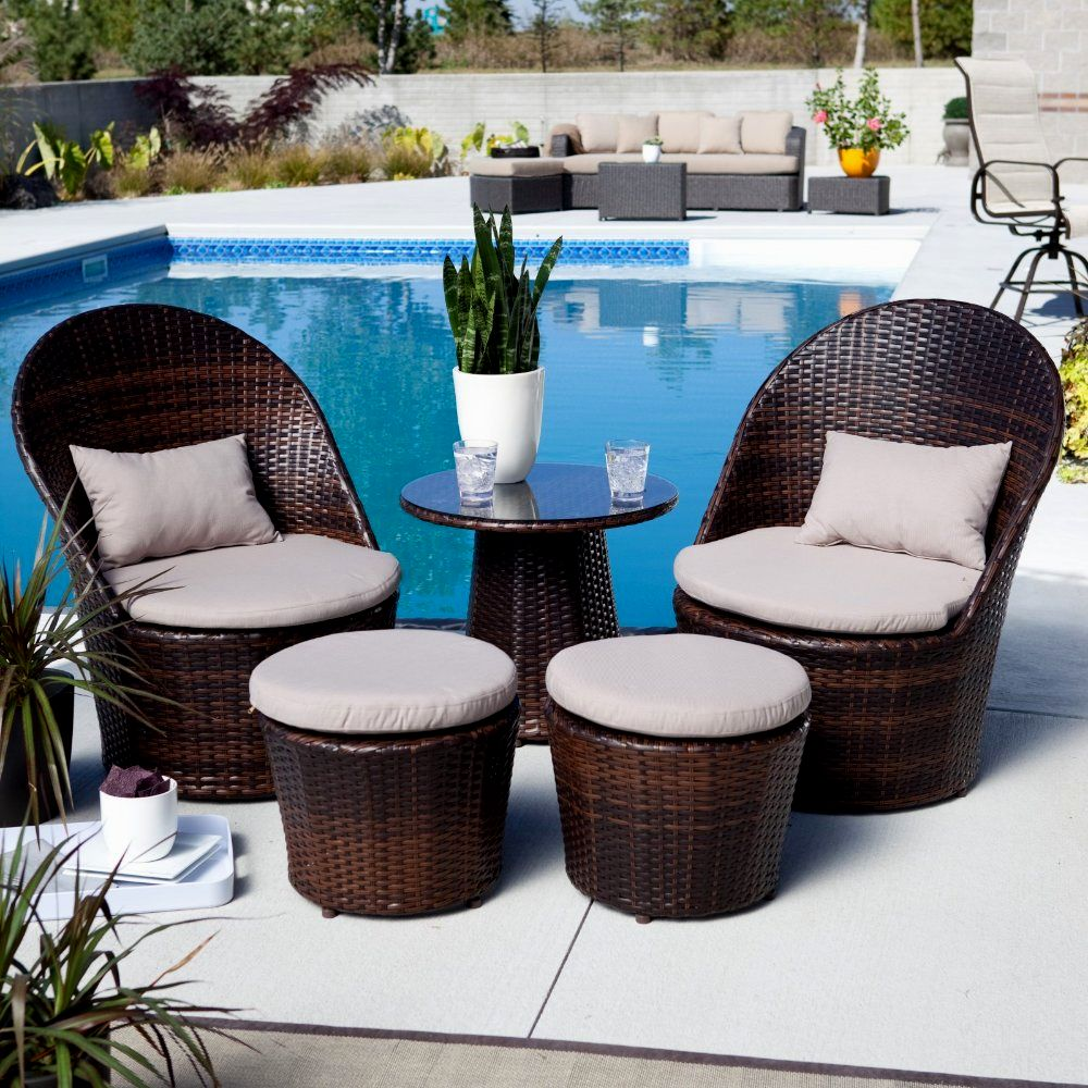 Small patio furniture eva furniture for Outside balcony furniture