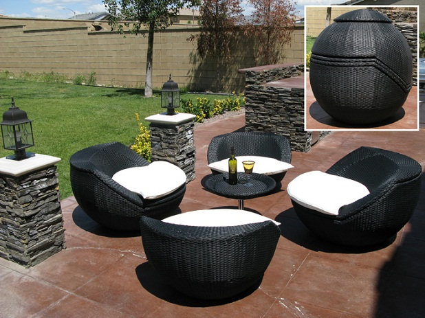 Unique Small Patio Furniture Sets