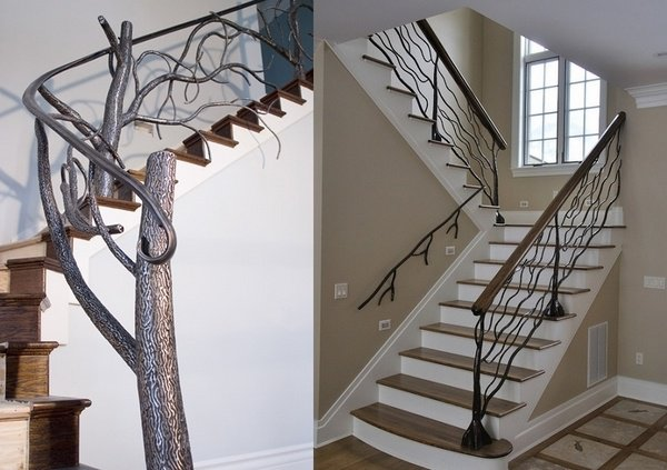 Wrought iron railings do it yourself to repair them eva for Interior iron railing designs