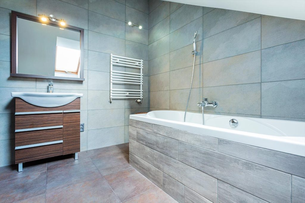 Popular Tips For Making A Small Bathroom Look Bigger  Bathroom Amp Kitchen Wall
