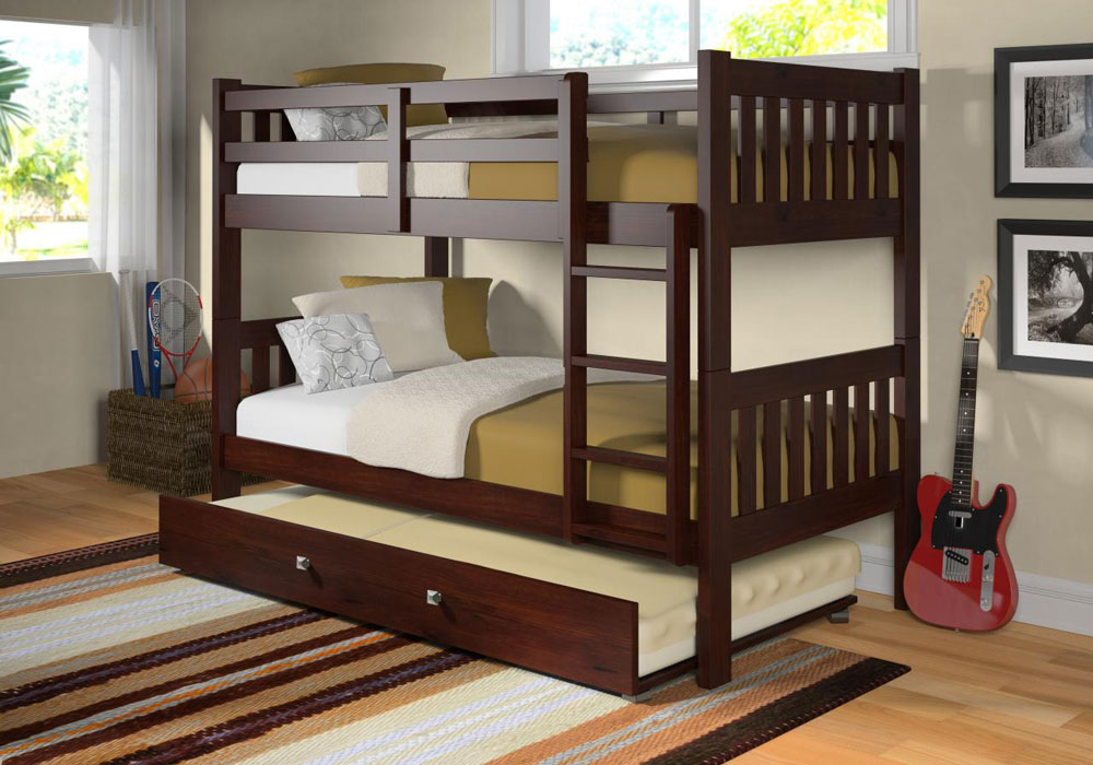 30 modern bunk bed ideas eva furniture - Double deck bed designs for small spaces pict ...