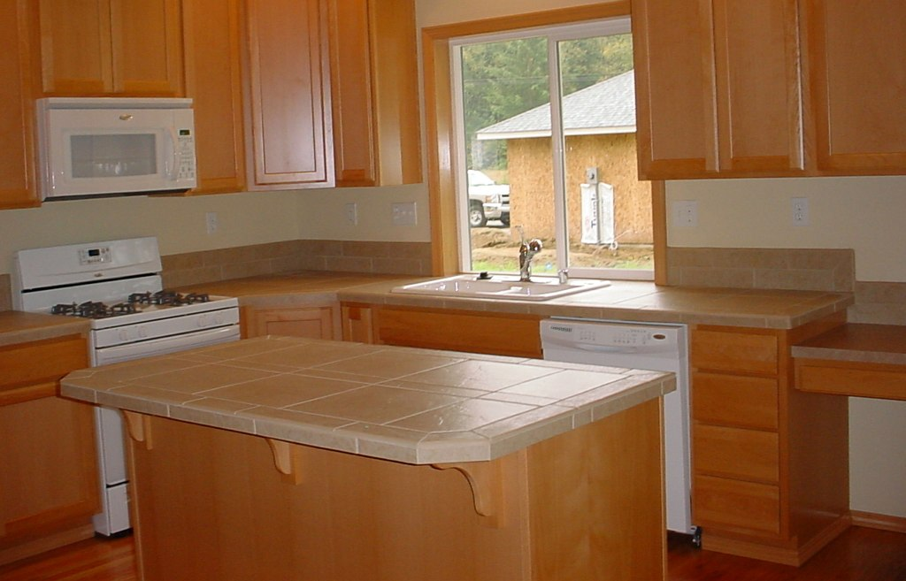 Ceramic Tile Countertops Color Ideas