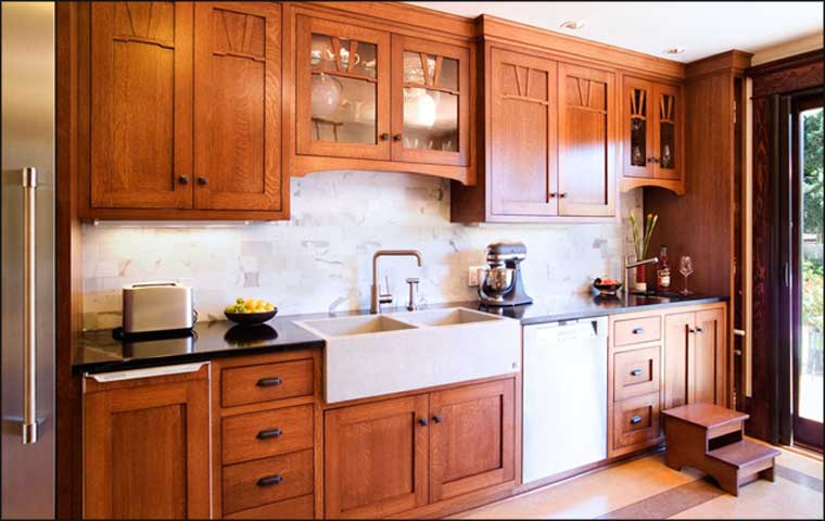 craftsman-kitchen-cabinets-design-ideas