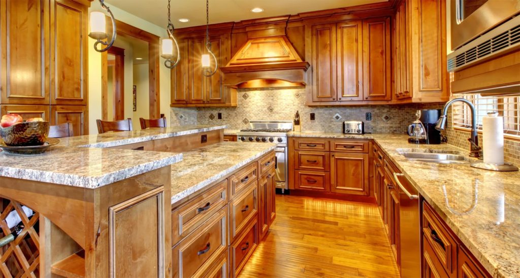 Granite kitchen countertops pros and cons disadvantages eva furniture - Awesome kitchen from stone more cheerful ...