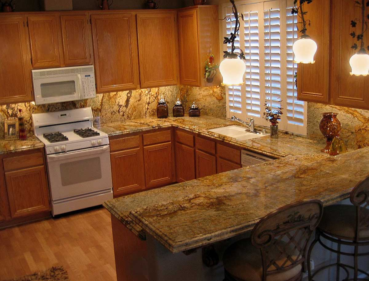 granite kitchen countertops cost installation and accessories eva furniture. Black Bedroom Furniture Sets. Home Design Ideas