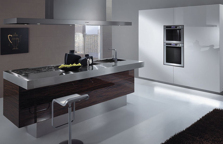 minimalist-stainless-steel-kitchen-countertops