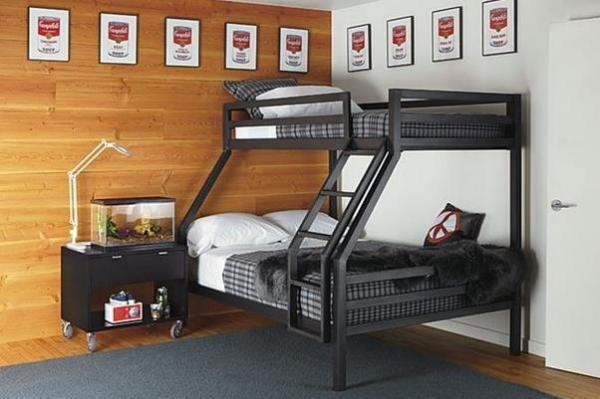 Modern bunk bed designs for saving spaces - Ideas for beds in small spaces model ...