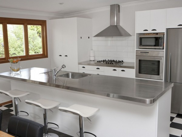 Stainless Steel Kitchen Countertops For Small Kitchen