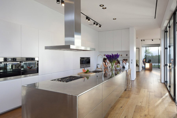 stainless-steel-kitchen-countertops | eva furniture