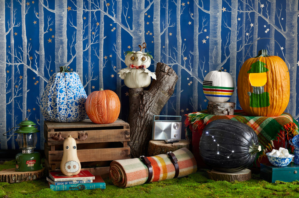 How to make halloween decorations eva furniture for Decoration jardin halloween