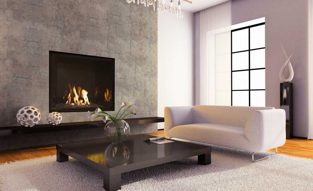 Modern fireplace designs trendy unique option for modern homes eva furniture - Decorating ideas for fireplace walls ...