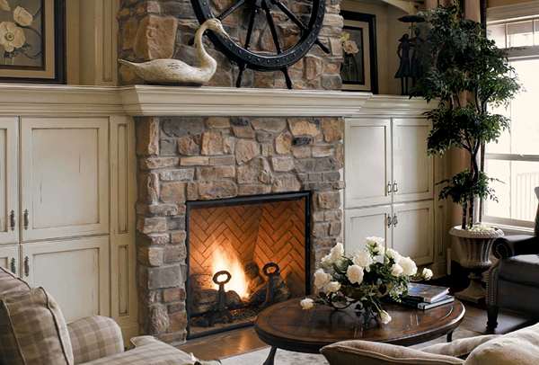 stone fireplace designs natural stone fireplace designs