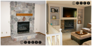 Fireplace Remodel Ideas, The Best Fireplace Remodeling Ideas