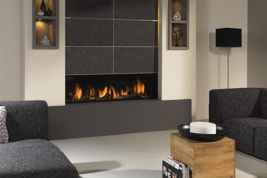 modern fireplace designs trendy unique option for modern homes