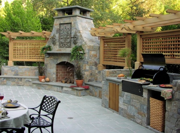 outdoor kitchen pizza oven design. outdoor-kitchen-with-fireplace-and-pizza-oven outdoor kitchen pizza oven design