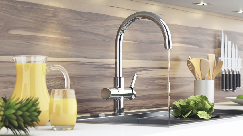 Make a Great Kitchen Faucet with 7 Things