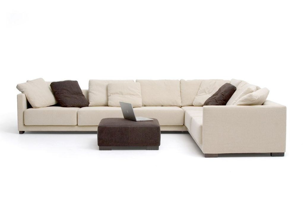 Modern l shaped sofa designs for awesome living room eva for Modern living sofa