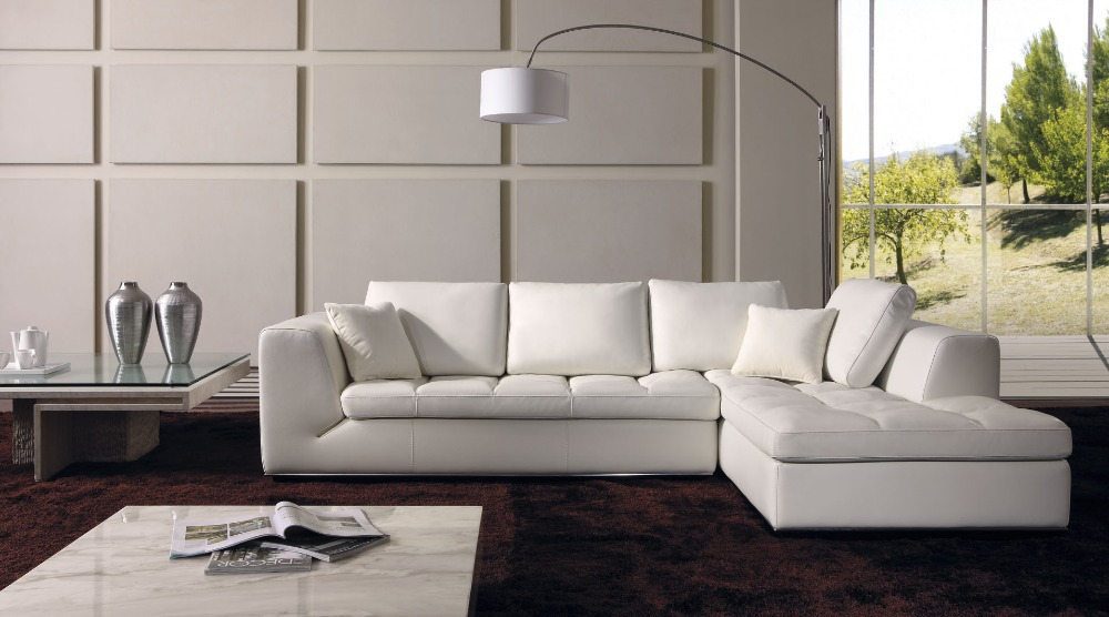 15 Modern L Shaped Sofa Designs for Awesome Living Room