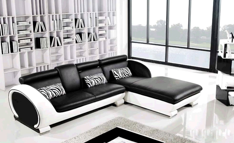 Modern l shaped sofa designs for awesome living room eva for 2 couches in small living room