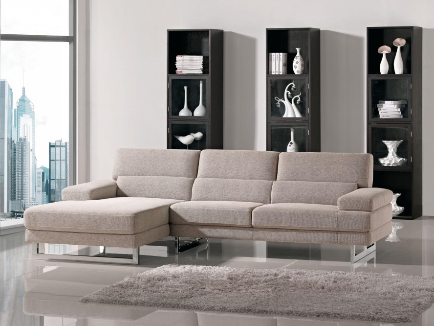 Modern Sectional Sofa For Small Spaces EVA Furniture - Modern sofas for small spaces