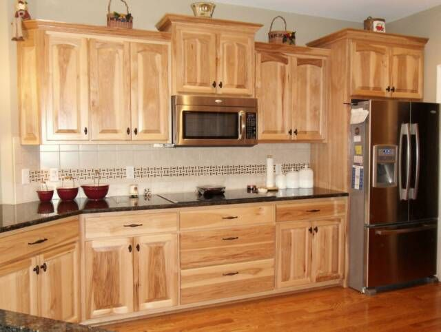 Interior Natural Cabinets hickory shaker style kitchen cabinets eva furniture rustic denver cabinets