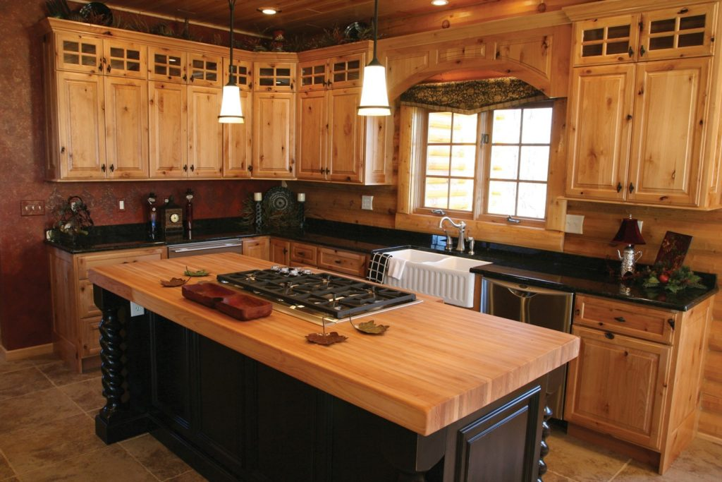 Hickory Cabinets Kitchen