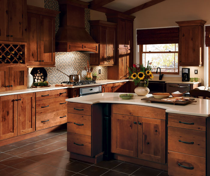 20 Rustic Hickory Kitchen Cabinets Design Ideas EVA Furniture