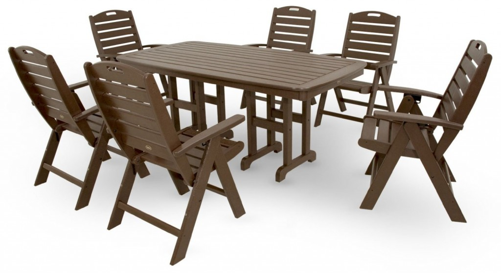 Pvc patio furniture sets plastic patio furniture sets for Best material for outdoor furniture