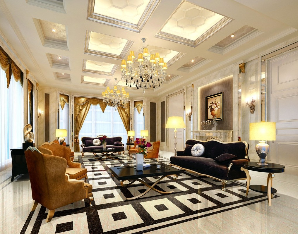 Luxury european interior design ideas for Interior decoration design ideas