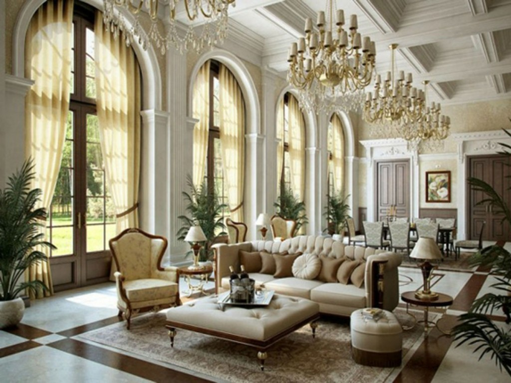 Modern European Style And European Living Room Interior Design ...