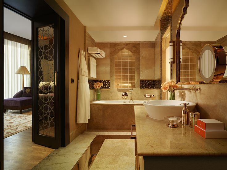 Five-Star Hotel Luxury Bathroom Interior Design | Eva Furniture