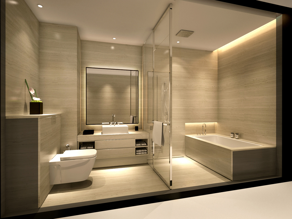 Luxury minimalist luxury bathroom hotel ideas for Exclusive bathroom designs