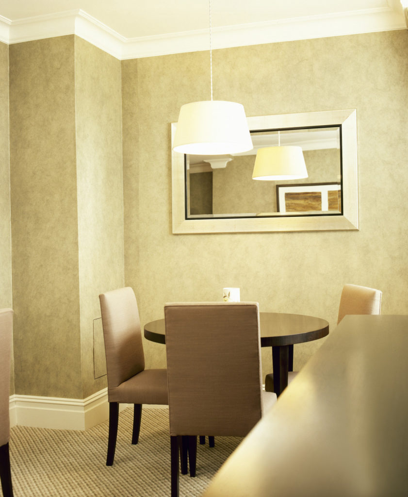 Warm Taupe Color for Dining Room