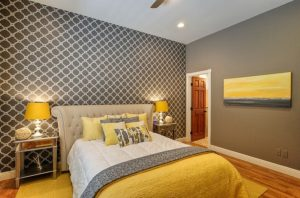 26 Best Grey and Yellow Bedrooms Decorating Ideas
